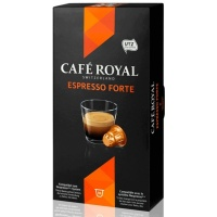 Капсулы для кофемашин Cafe Royal Espresso Forte 10*5г