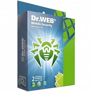 Антивирус Dr.Web Mobile Security (BHM-AA-24M-2-A3) 2ПК/2Г