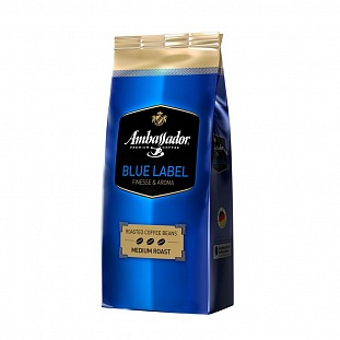 Кофе Ambassador Blue Label в зернах, 1кг